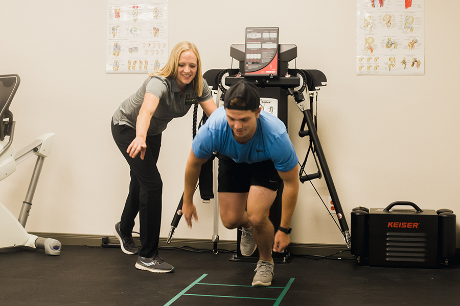Sports Rehab Training at Elevate Therapy